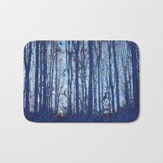 Denim Designs Winter Woods Bath Mat