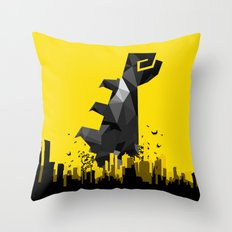 Polygon Heroes Rise 3 Throw Pillow