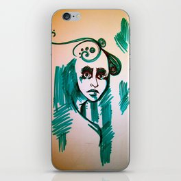 Lost in the illusion  iPhone Skin