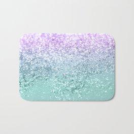 Mermaid Girls Glitter #1 #shiny #decor #art #society6 Bath Mat