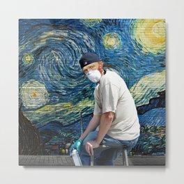 Street Art (Van Gogh) Metal Print