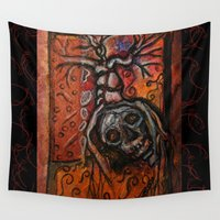 et Wall Tapestries featuring principium et finis by mimulux