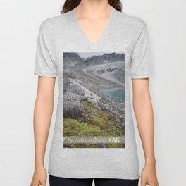 AK Pennyroyal Glacier Unisex V-Neck