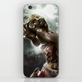 Zombie Walkers of The Living Dead iPhone Skin