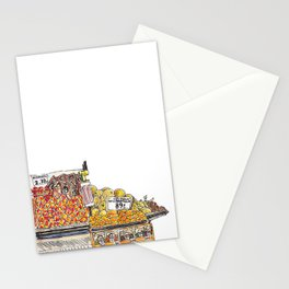 Fruit Stand Stationery Cards