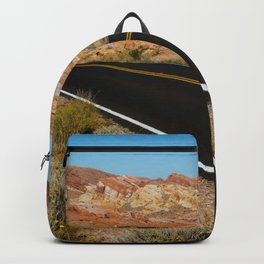 Valley of Fire, Nevada. Backpack