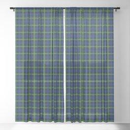 Forbes Tartan Plaid Sheer Curtain
