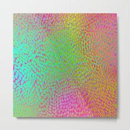 shifting dots in bright color Metal Print
