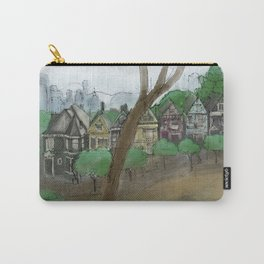 Painted Ladies, San Francisco sketch Carry-All Pouch