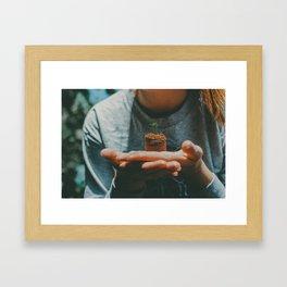 new growth Framed Art Print