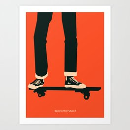 Back to the Future I Art Print