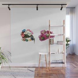 Floral Vintage Wall Mural