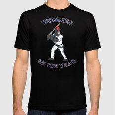 Wookiee Of The Year Black LARGE Mens Fitted Tee