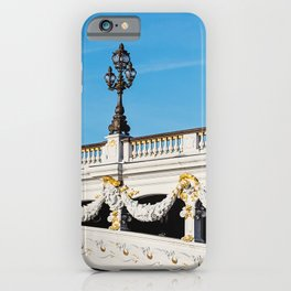 Pont Alexandre IIi - Paris, France iPhone Case