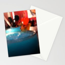 Blue Red Cereza Stationery Cards