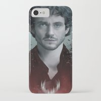 will graham iPhone & iPod Cases featuring Will Graham by Alba Palacio