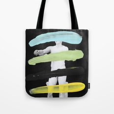 Untitled (Finger Paint 8) Tote Bag
