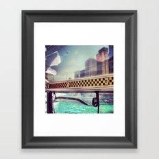 Wendella Water Taxi Framed Art Print