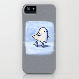 SKATING GHOSTIE iPhone Case