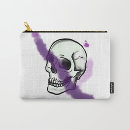 Skullface Carry-All Pouch