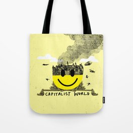 Capitalist World Tote Bag