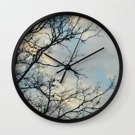 Scarred Skys Wall Clock