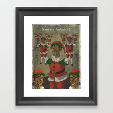 Too many Punches Framed Art Print