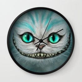 Smile Cat - CHESIRE Wall Clock