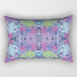 Crazy hibiscus lilac Rectangular Pillow