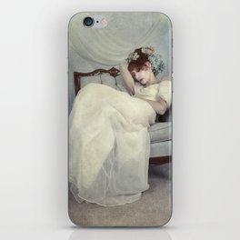 Sleeping Through the Dull Fete iPhone Skin