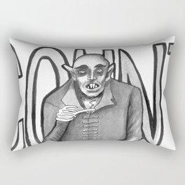 Count Orlok (Nosferatu) Rectangular Pillow