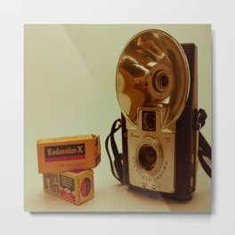 Kodak Brownie Camera Metal Print