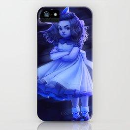 Ghost Girl (#Drawlloween2016 Series) iPhone Case