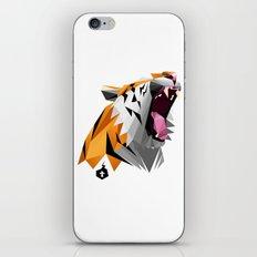 TML polygon tiger ROAR!!! iPhone & iPod Skin