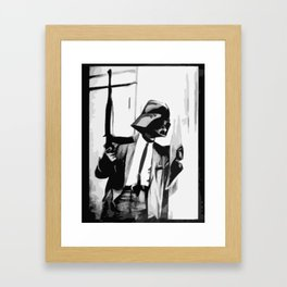 By Any Force Necessary Framed Art Print