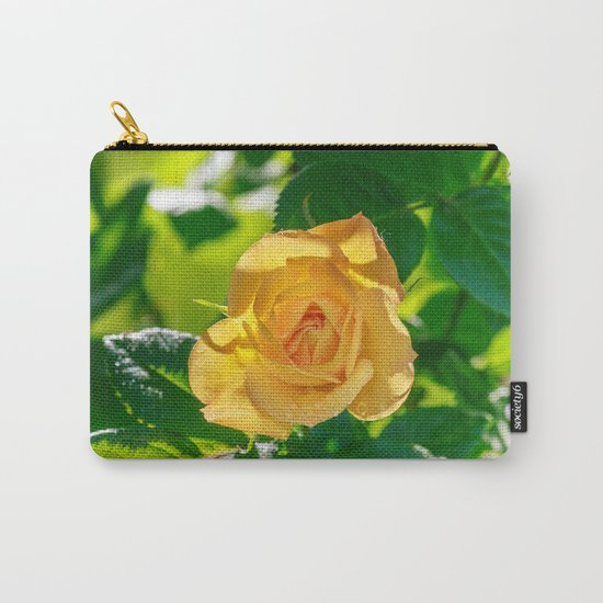 Gold rose Carry-All Pouch