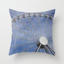 Fun wheel carousel Throw Pillow