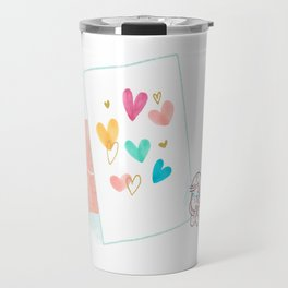 Love Card Travel Mug
