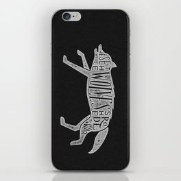 These Were The Wolves She Rode to War - Wolf by Wolf iPhone Skin
