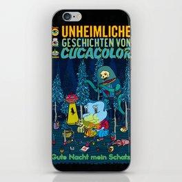 UNHEIMLICHE GESCHICHTEN VON CUCACOLOR iPhone Skin