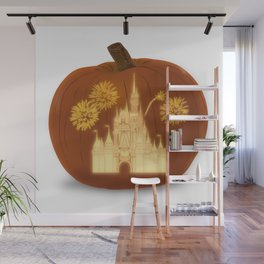 Magical Jack O' Lantern Wall Mural