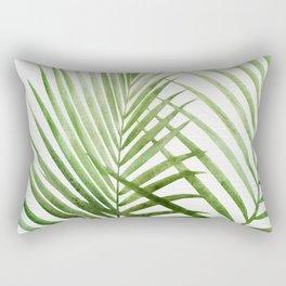 Fresh Palm Fronds Rectangular Pillow