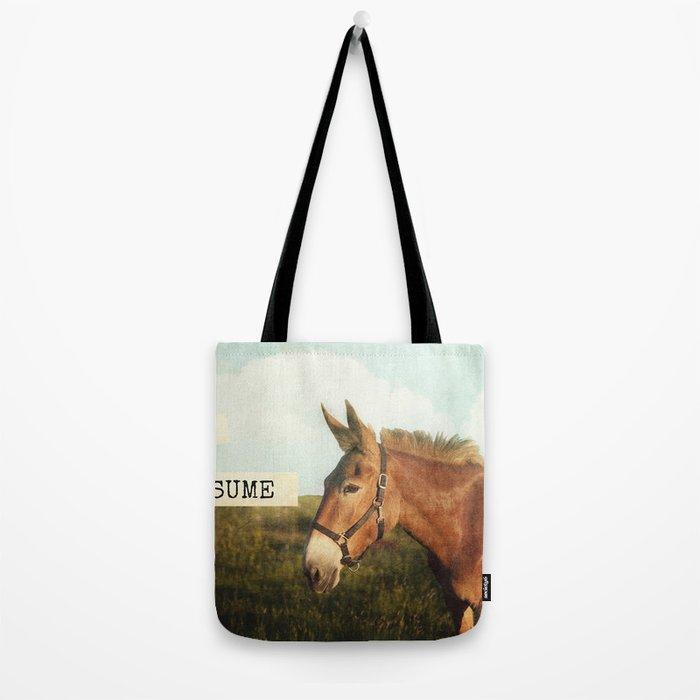 ASS*U*ME Tote Bag