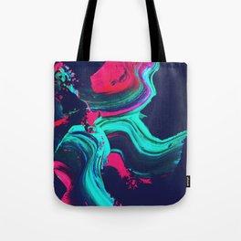 Neon abstract #FEELING Tote Bag