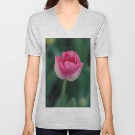 The Beauty of Pink Unisex V-Neck