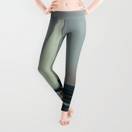 May Soaring Over Spilled Oil - shoes stories Leggings
