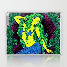 Song of the Siren, Neon Blacklight Laptop & iPad Skin
