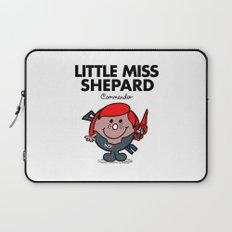 Little Miss Shepard Laptop Sleeve