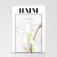 haim Stationery Cards featuring Alana Haim by chazstity