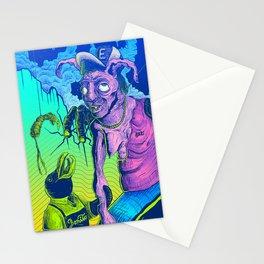 Perplex rabbit Stationery Cards